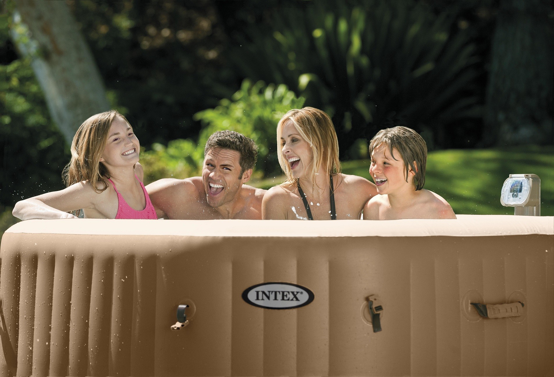 SPA pool round Intex PureSpa Bubble Therapy 6 persons