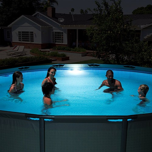 LED pool lamp Intex with hydroelectric power