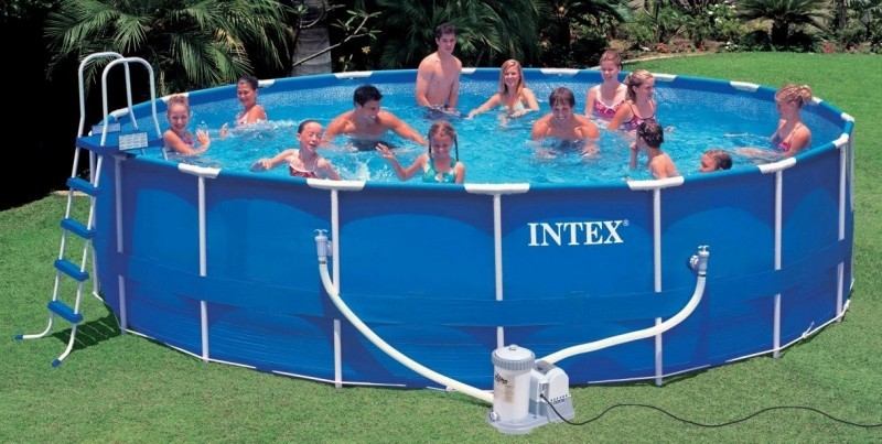 Pool Intex Metal frame WITH ACCESSORIES 5.49x1.22m SALE!